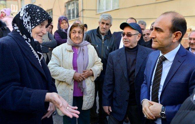 Başkan Edebali Mahalle Ziyaretlerinde