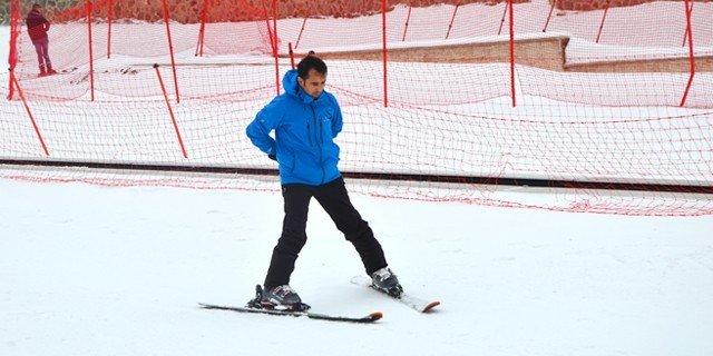 ETÜ'de Ücretsiz Temel Kayak Eğitimi Kursu