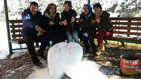 Diş hekimlerinden 'kardan diş'