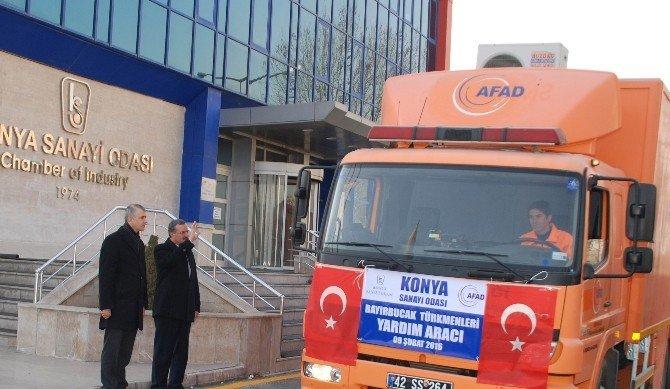 KSO'dan Bayır-bucak Türkmenlerine Yardım