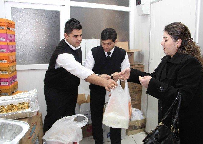 Gaziantep Emniyetinden Sur Ve Cizre'ye Gıda Takviyesi