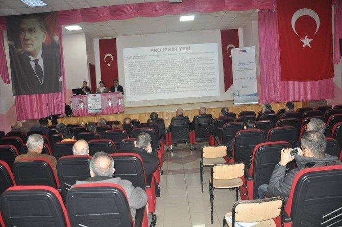 """""""Niksar Atık Su Arıtma Tesisi"""" Projesi Toplantısı Düzenlendi"""