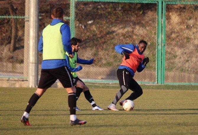 Karabükspor'da Yeni Malatyaspor Maçı Hazırlığı Sürüyor