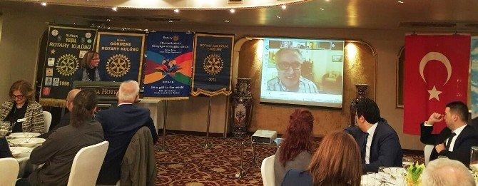 Rotary 2440. Bölge E-kulüp'ten Prof. Dr. Ulman'a Meslek Ödülü