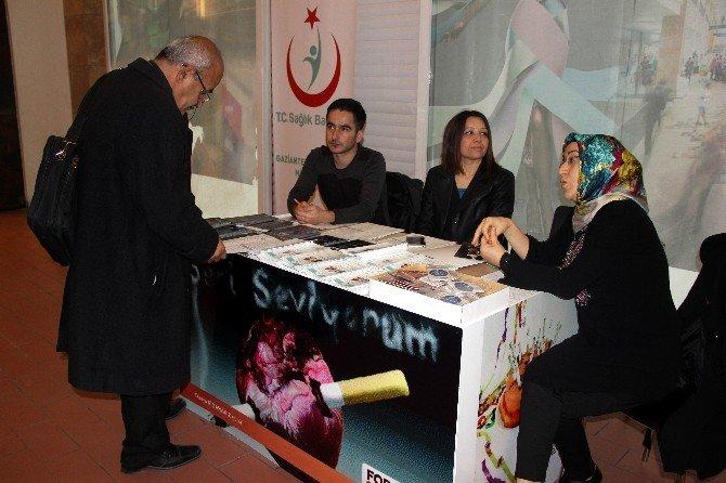 Gaziantep'te 9 Şubat Dünya Sigara Bırakma Günü Etkinliği