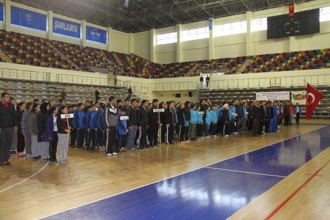 Analig Hentbol Çeyrek Final Müsabakaları Şanlıurfa' Da Yapıldı