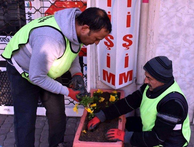 Sevgi Yolu Çiçeklerle Donatılıyor