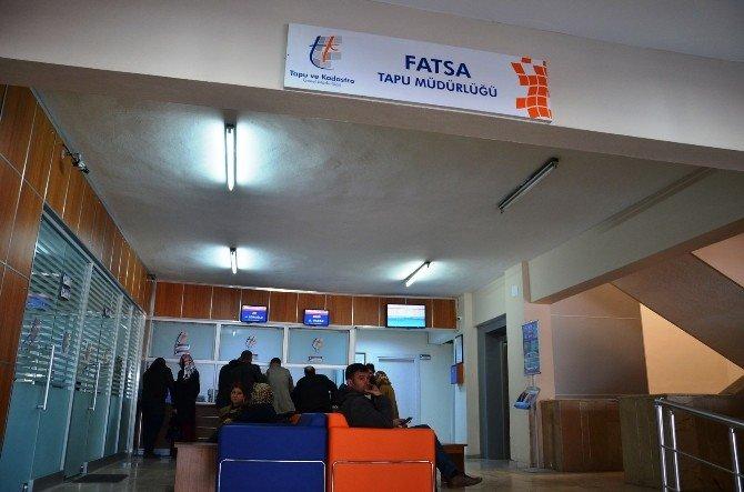 Fatsa'da Tapu Randevu Sistemi Memnuniyeti