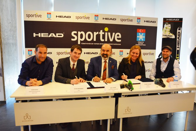 Kayak Federasyonu, HEAD ve Sportive arasında işbirliği anlaşması imzalandı
