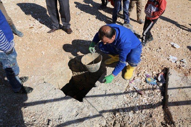 Türkiye'nin Sınırda Kurduğu Çadır Kent Havadan Ve Karadan Görüntülendi