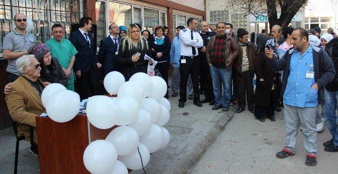 Eşref Kolçak, Sigarayı Bırakışının 30. Yılını Gökyüzüne Balon Salarak Kutladı