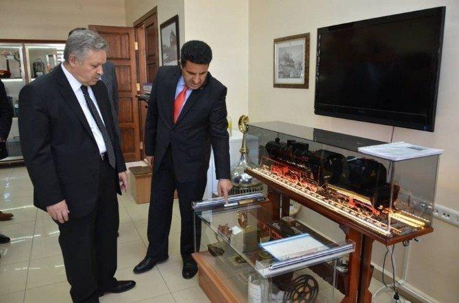 Vali Kahraman DDY Erzincan İşletme Müdürlüğü'nde İncelemelerde Bulundu