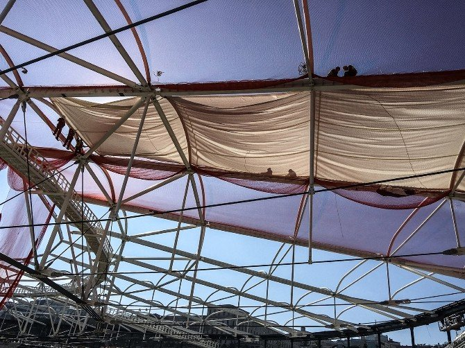 Vodafone Arena'da Son Rötuşlar
