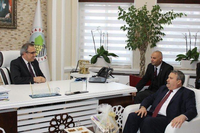 Çerçi'den MHP'li Alaşehir Belediye'sine Ziyaret