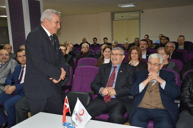 Kızılay'ın 38 Yıllık Başkanı Güven Tazeledi