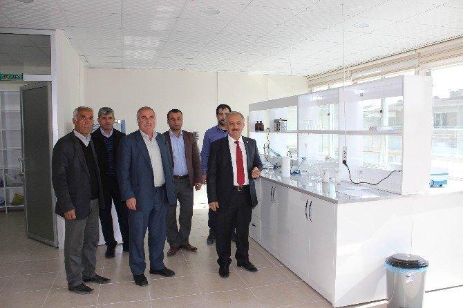 Ziraat Odası Toprak Tahlil Laboratuarı Kurdu