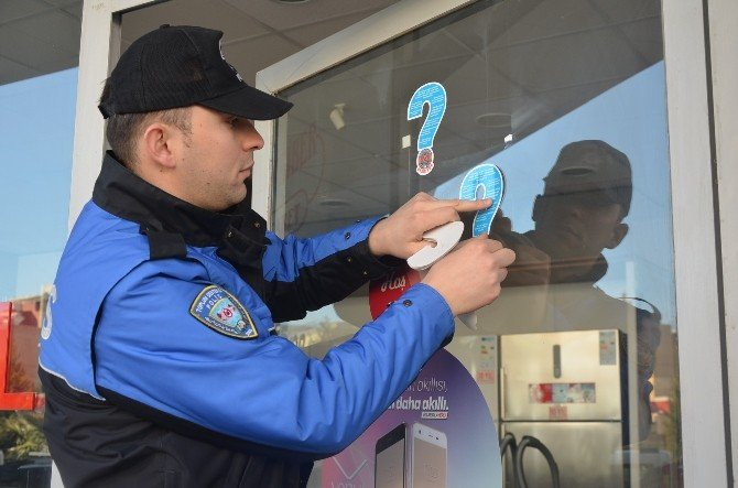 Kahta'da Toplum Destekli Polis Ekipleri Halkı Uyarıyor