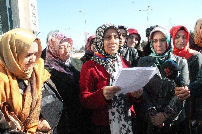 Konya'da Kadınlardan Kılıçdaroğlu'na Suç Duyurusu