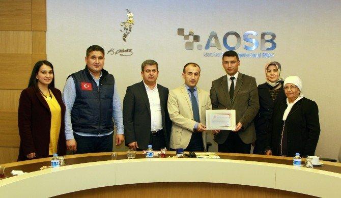 Aosb Başkanlığı'ndan Örnek Kampanya