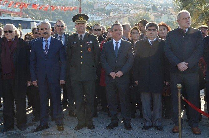 Atatürk'ün Kuşadası'na Gelişinin 92'inci Yıldönümü Kutlandı