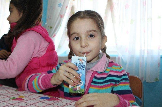 Osmaneli'de Okul Sütü Dağıtımı Başladı