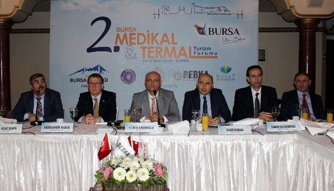 """Bursa'nın Termal Turizmini Ayağa Kaldıracak """"Turizm Forumu"""" Başlıyor"""