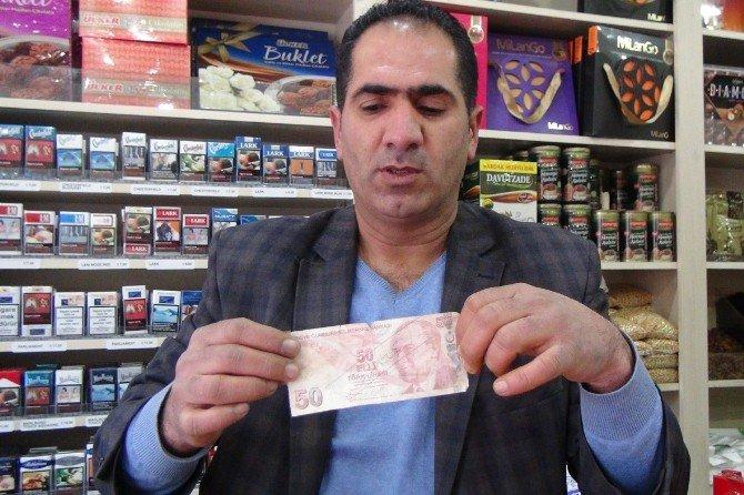 Sahte Dolarla Alışveriş Güvenlik Kamerasında