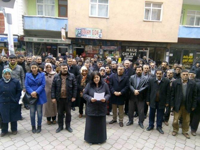 Sokağa çıkma yasakları Iğdır'da protesto edildi