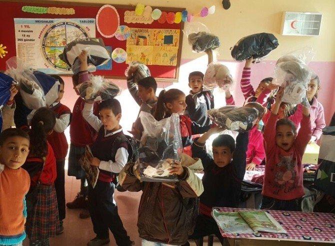 Hayırseverler 280 Çocuğu Sevindirdi