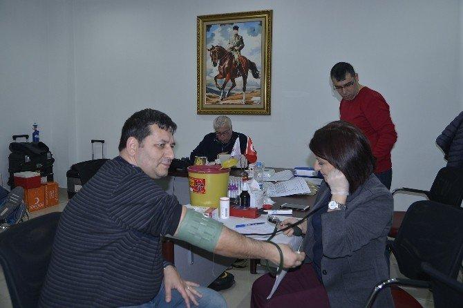 Tepebaşı Belediyesi'nden Kan Bağışına Destek