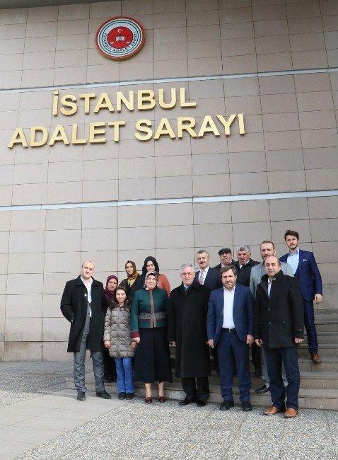 Eyüp'te Kemal Kılıçdaroğluna Suç Duyurusu