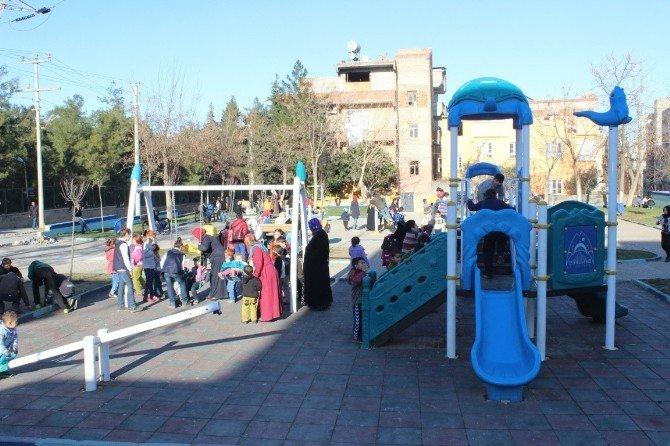 Eyyübiye Belediyesi Park Seferberliği Başlattı