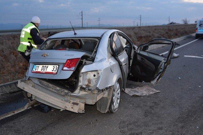 Hasta Nakil Aracı İle Otomobil Çarpıştı: 15 Yaralı