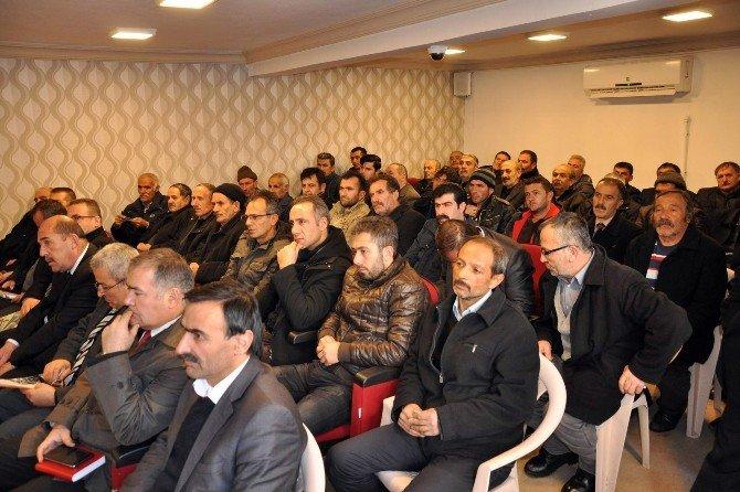 Gümüşhane'de Ahır-ağıl Desteklemeleri Bilgilendirme Toplantısı Yapıldı