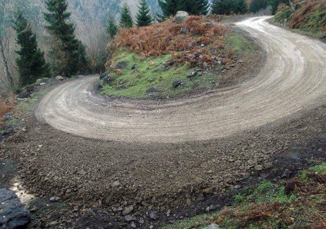 Gürcistan'da Köyleri Merkeze Bağlayan Yol TİKA Tarafından Yapıldı