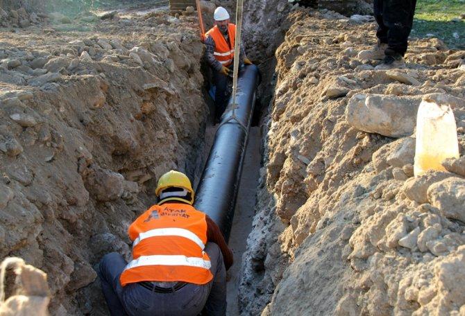 Altınözü'nde 8 mahalle temiz suya kavuşuyor