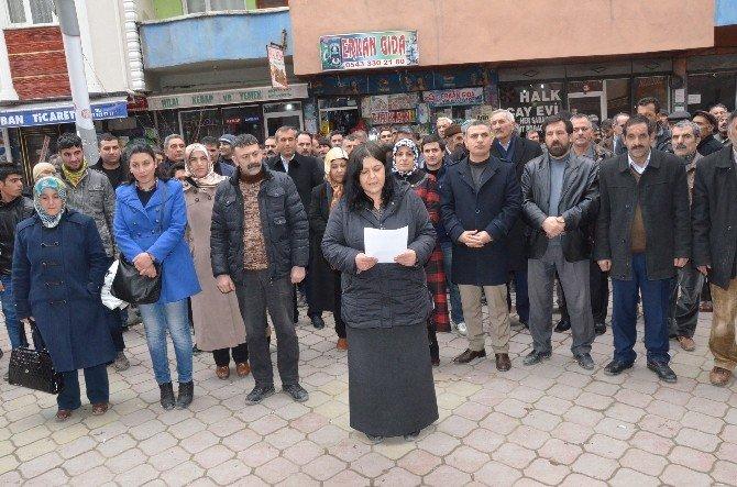 Iğdır'da Cizre Olayları Protesto Edildi