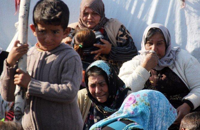 Çocuğunu Göremeyen Suriyeli Kadın Çadırda İntihar Etti