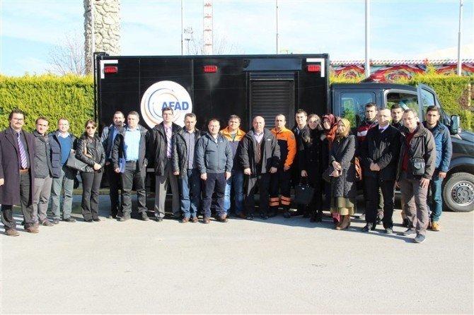 AFAD'dan Büyükşehir Belediyesine Kbrn Semineri