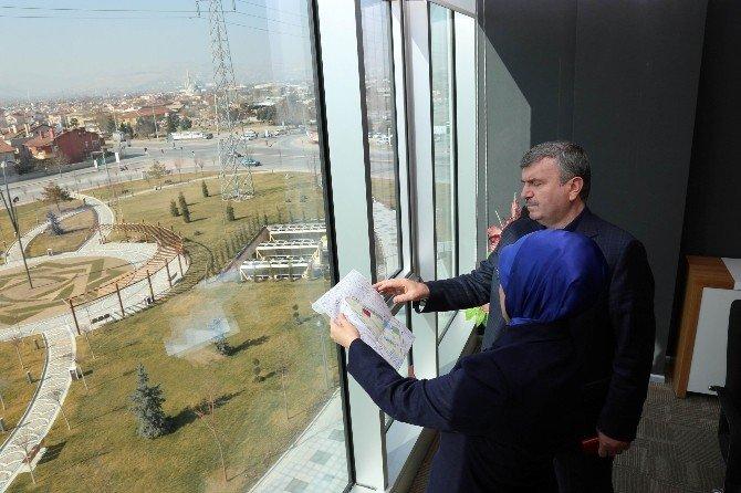 Başkan Akyürek'ten Başkan Toru'ya Ziyaret