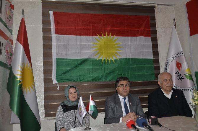 PAK Genel Başkanı Özçelik: PKK siyasetini değiştirmeli