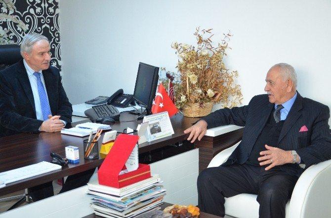 Malatya Girişim Gurubu'ndan BİK Şube Müdürü Abacı'yı Ziyaret
