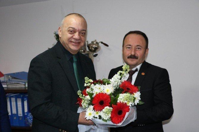Başkan Ergün'den Akhisar'a Ziyaret