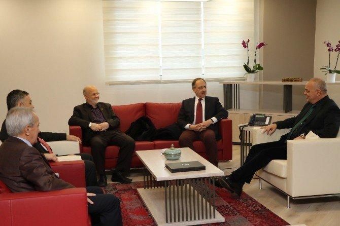 Başkan Ergün'e Kampüs Yolu Teşekkürü