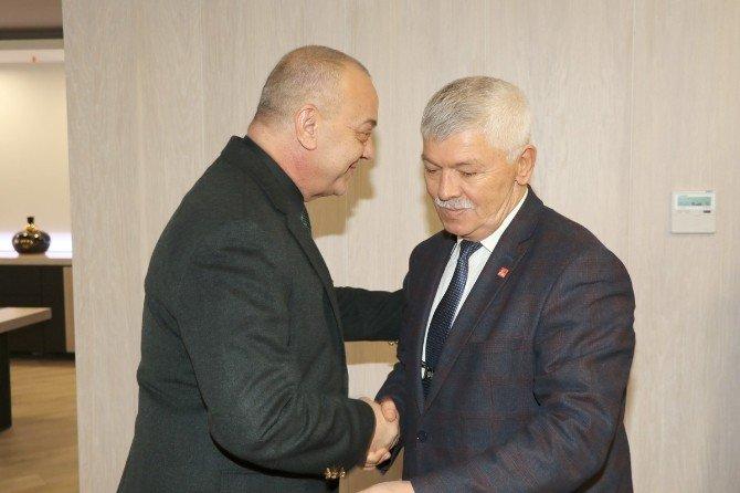 CHP Manisa'dan Başkan Ergün'e Ziyaret