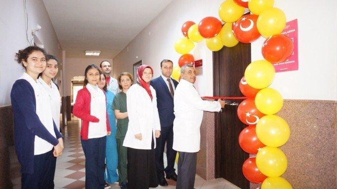 Sarıgöl Devlet Hastanesi'nden Örnek Proje