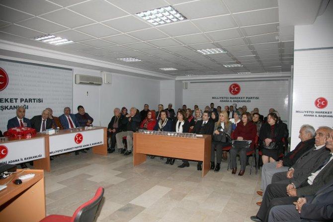 MHP'nin 47. kuruluş yıldönümünde şehitler için mevlit okutuldu