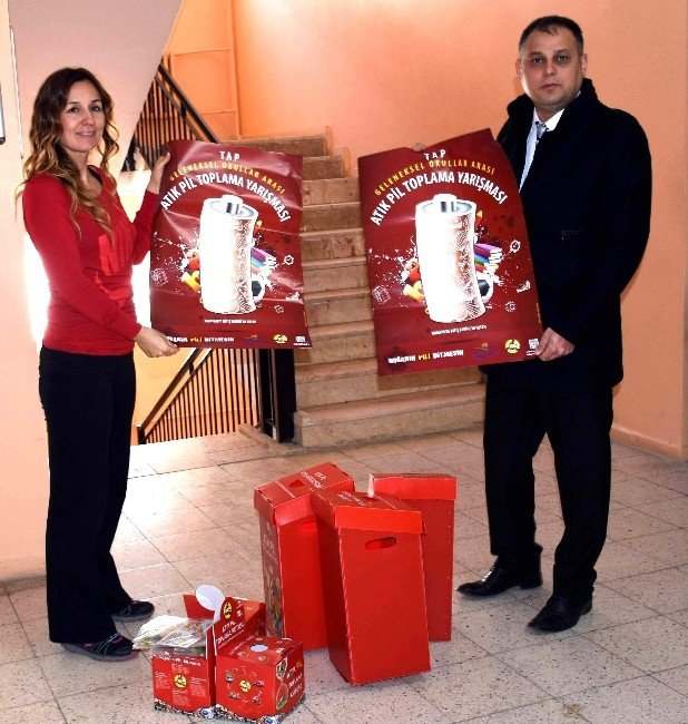 İncirliova'da Ödüllü Atık Pil Toplama Kampanyası