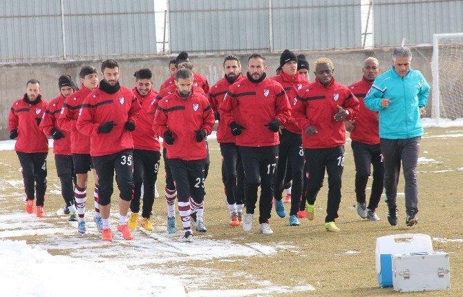 Elazığspor'da, Balıkesirspor Maçı Hazırlıkları