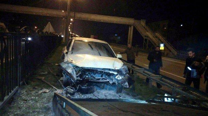 Samsun'da Trafik Kazası: 4 Yaralı